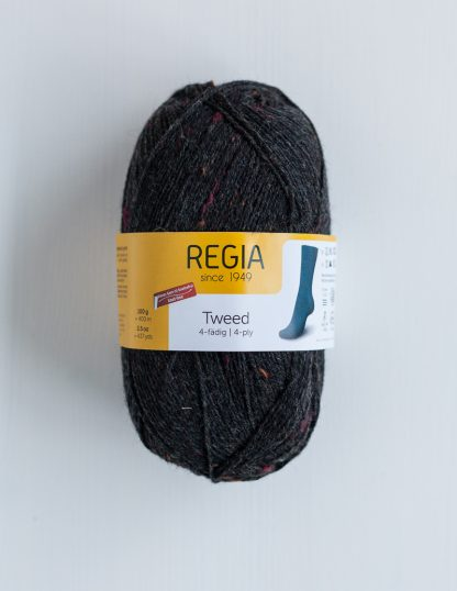 Regia - Tweed 4-ply - Hiili 98