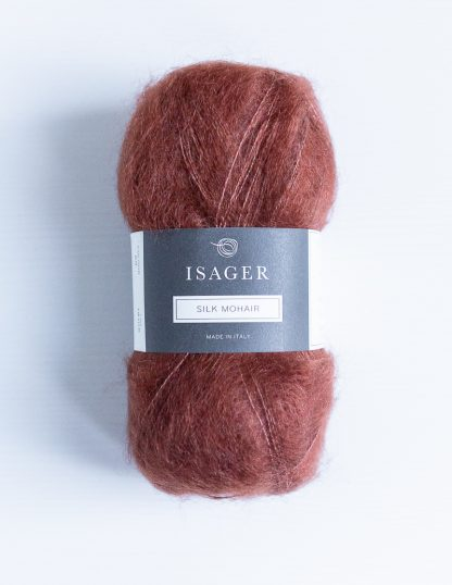 Isager Silk Mohair - Ruoste 33