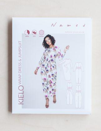 Kielo Wrap Dress -ompelukaava