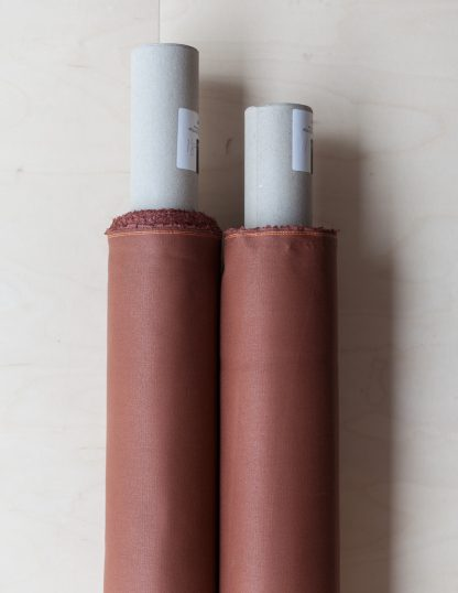 Dry Waxed -luomupuuvillakangas, Rust