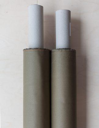 Dry Waxed -luomupuuvillakangas, Khaki