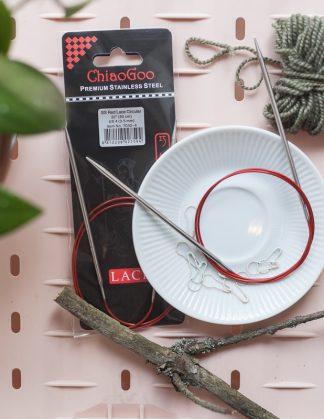 ChiaoGoo Red Lace -pyöröpuikot