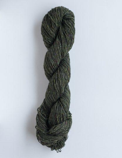 Isager Tweed - Bottle Green