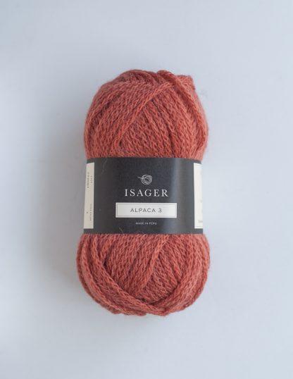 Isager - Alpaca 3 - Oranssinpunainen 1