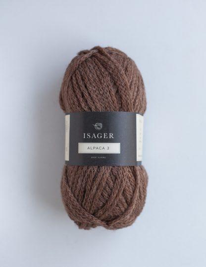 Isager - Alpaca 3 - Ruskea 8S