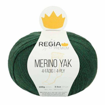 Regia Premium - Merino Yak - Havunvihreä 07521
