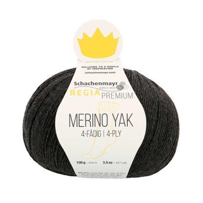 Regia Premium - Merino Yak - Hiili 07512