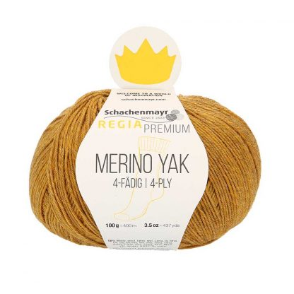 Regia Premium - Merino Yak - Kulta 07504