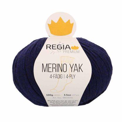 Regia Premium - Merino Yak - Kuninkaansininen 07520