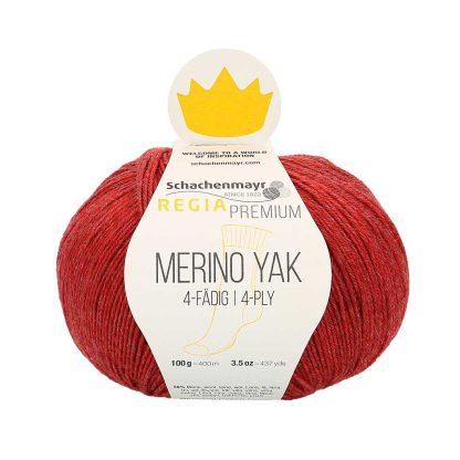 Regia Premium - Merino Yak - Puolukka 07507