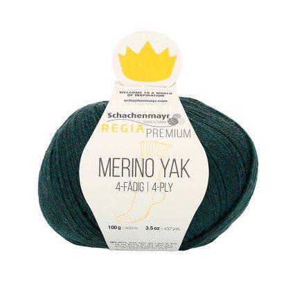 Regia Premium - Merino Yak - Sinivihreä 07514