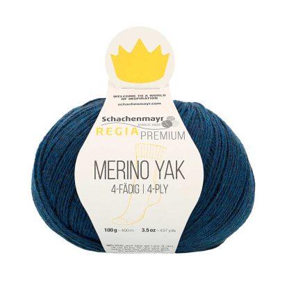 Regia Premium - Merino Yak - Yönsininen 07515