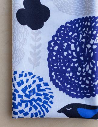 Kauniste - Sininen Sunnuntai-kangas