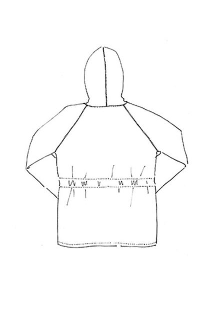 Merchant & Mills - Landgate-ompelukaava - Rakennekuva
