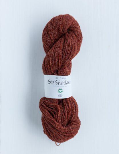 BC Garn - Bio Shetland - Terracotta 53
