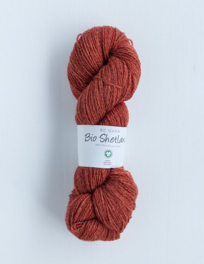 BC Garn - Bio Shetland - Rust Orange 52