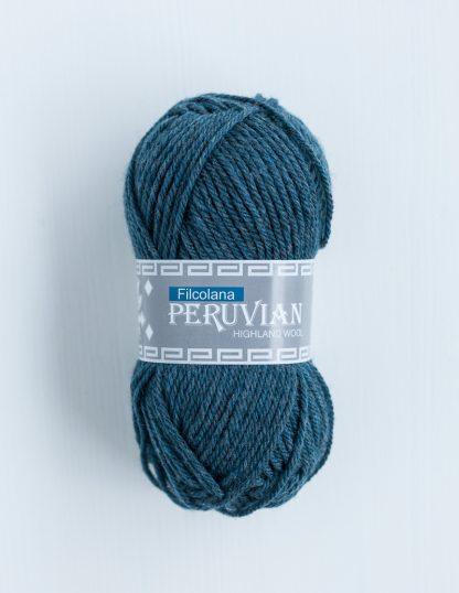 Filcolana - Peruvian Highland Wool - Storm blue melange 814