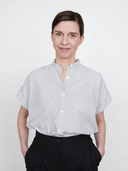 Cap Sleeve Shirt -ompelukaava