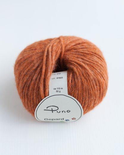 Gepard Garn - Puno - Rust 212
