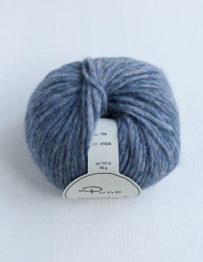 Gepard Garn - Puno - Jeans Blue 734