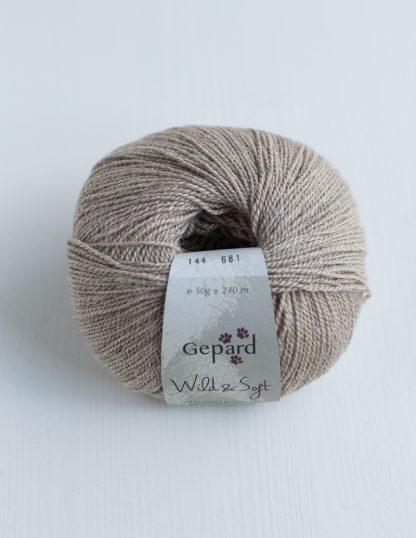 Gepard Garn - Wild & Soft - Light Cream 144