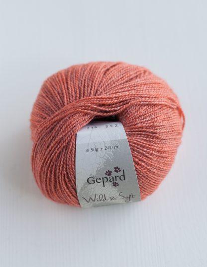 Gepard Garn - Wild & Soft - Coral 216