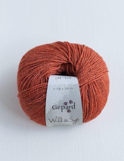 Gepard Garn - Wild & Soft - Brandy 240