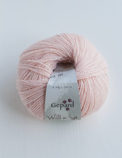 Gepard Garn - Wild & Soft - Light Rosa 412