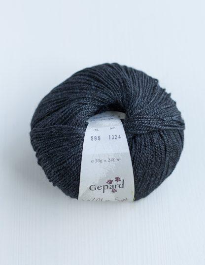Gepard Garn - Wild & Soft - Black 599