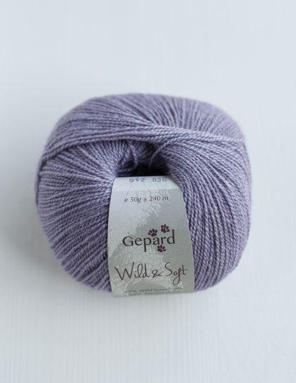 Gepard Garn - Wild & Soft - Faded Lilac 612