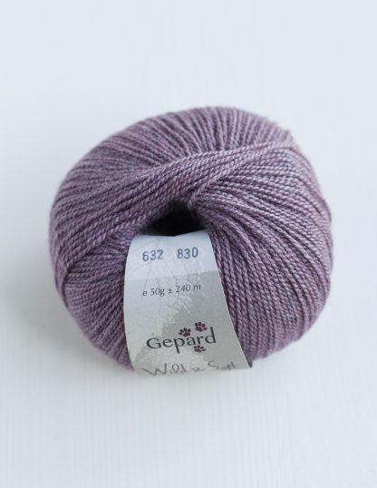 Gepard Garn - Wild & Soft - Purple Heather 632
