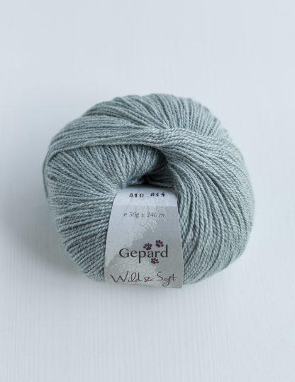 Gepard Garn - Wild & Soft - Aqua Grey 810
