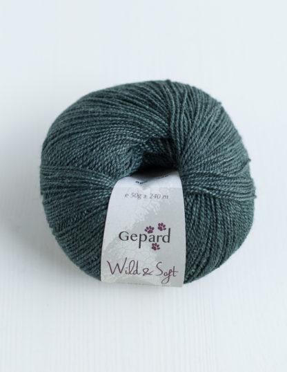Gepard Garn - Wild & Soft - Forest Green 866