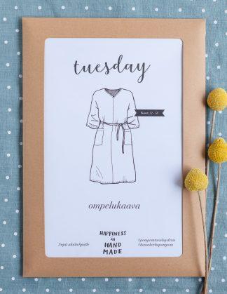 Tuesday-mekko - ompelukaava